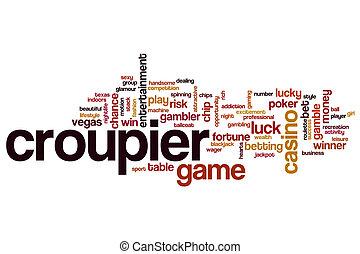 Croupier word cloud