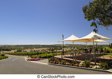 Cafe restaurant in the wineries - Cafe restaurant in McLaren...