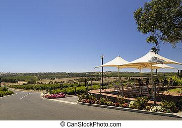 Cafe restaurant in the wineries - Cafe restaurant in McLaren...