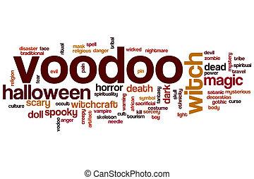 Voodoo word cloud concept