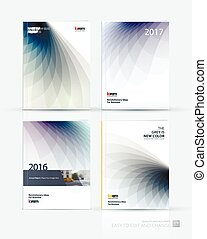 Brochure template layout, cover design annual report,...