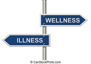 Being Well versus having an Illness
