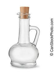 Distilled white vinegar - Bottle of distilled white vinegar...