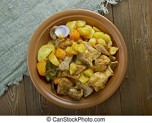 Estonian pork stew - ahjuliha - Estonian pork stew