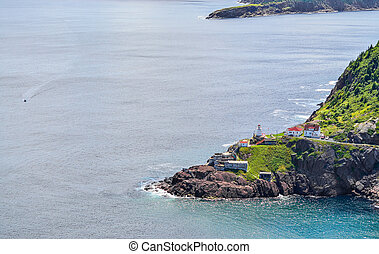 Canadian National Historic Site, Fort Amherst, St John's...
