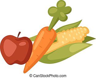 Vegetables food cellulose vector set. Cabbage, peppers,...