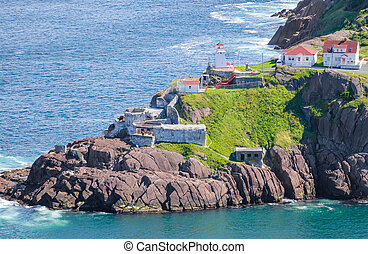 Fort Amherst St John's Newfoundland - Summer day sunshine...