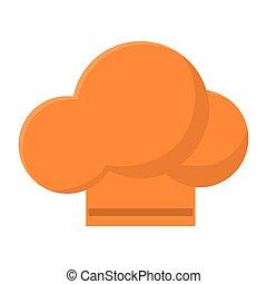 Isolated chefs hat design - Chefs hat icon. menu restaurant...