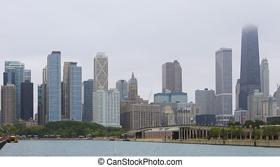 Timelapse of downtown Chicago - A Timelapse of downtown...