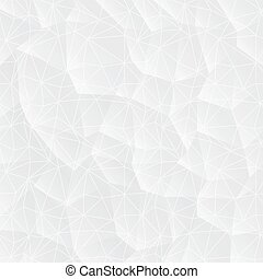 Abstract white background with triangles.