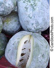 Melones, invierno, venta