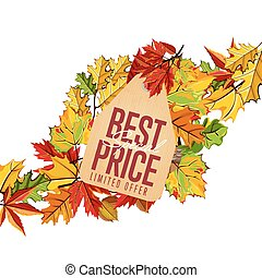Best special price label. Limited offer.