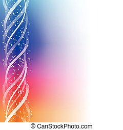 Colorful Glowing Lines Background.