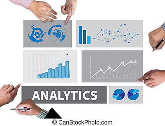 ANALYTICS (Analysis Analytic Marketing Graph Diagram)...
