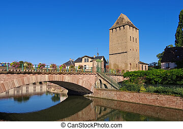 Ponts Couverts in Strasbourg, Alsace