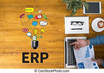 (erp), 계획, 자원, 기업