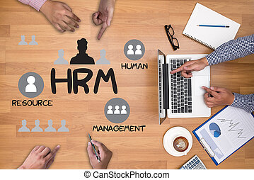 HRM Human Resource Management Strategy Planning Working HRM...