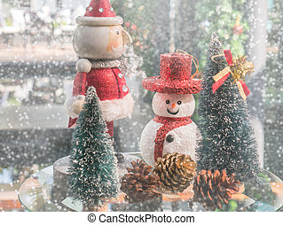 Christmas greeting decorations