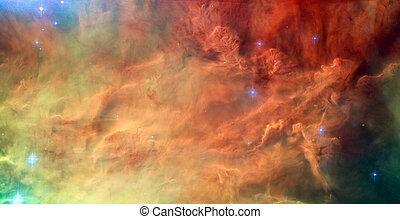 Sagitario, nebulosa, Más desordenado, laguna, 8,...