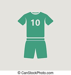 Soccer uniform icon