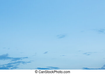 clear blue sky with cloud used for summer background