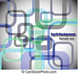 Colorful abstract background with square. Vector