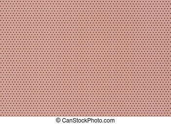 Brown polka dot background
