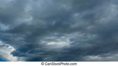 Bad Weather Clouds TimeLapse - Dramatic Bad Weather Clouds...