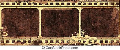 Grunge film frame - Computer designed highly detailed film...