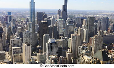 Timelapse the Chicago city center - A Timelapse the Chicago...