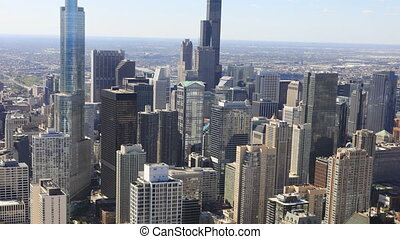 Timelapse the Chicago skyline - A Timelapse the Chicago...