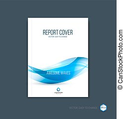 Abstract cover design, business brochure template layout,...