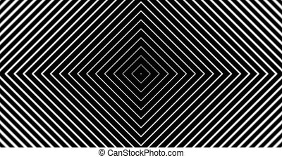 Tunnel4-03-na - Motion background with moving geometric...