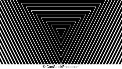 Tunnel4-04-na - Motion background with moving geometric...