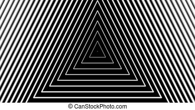 Tunnel4-15-na - Motion background with moving geometric...