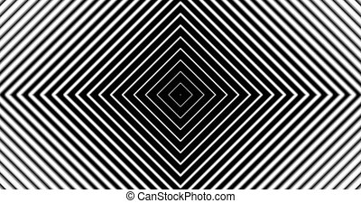 Tunnel4-13-na - Motion background with moving geometric...