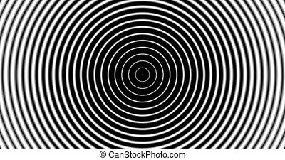Tunnel4-11-na - Motion background with moving geometric...