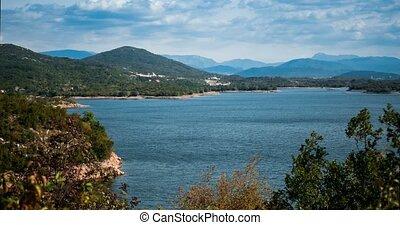 Time Lapse At Jezero Krupac Lake, Montenegro