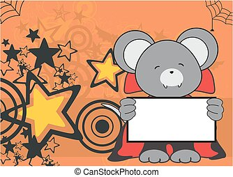 sweet mouse dracula costume card - sweet mouse dracula...