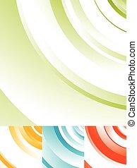 círculos, patrón, Extracto, Plano de fondo, vórtice, radial,...