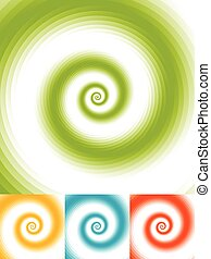Radial circles abstract background Spiral, vortex geometric...
