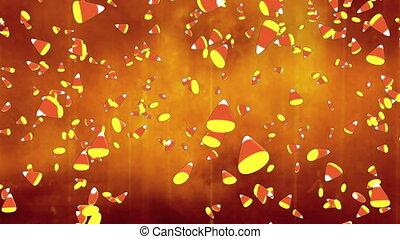 Grunge orange backdrop candy corn - Horror grunge orange...