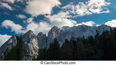 Time Lapse - View on Goli?ica Mountain, Slovenia