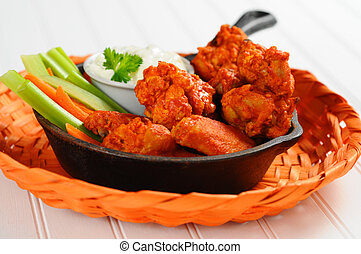 Buffalo Chicken Wings - Buffalo style chicken wings and...