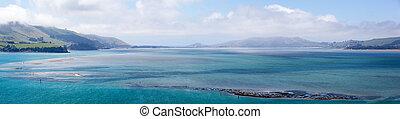 Dunedin Inlet Panorama - The panoramic view of Dunedin inlet...