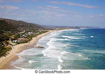 Widerness Beach - Wilderness Beach in South Africas Garden...