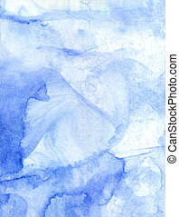 Abstract watercolor background - Bright watercolor...
