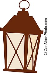 Street light vector illustration. - Street light posts and...