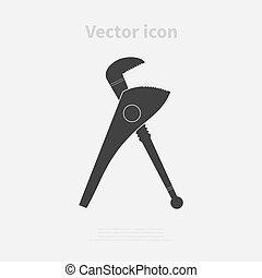 Caliper icon Vector illustration