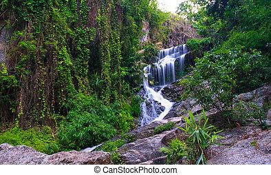 Huai Kaew waterfall in chiang Mai, Thailand
